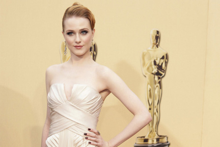 Evan Rachel Woods at the Oscars