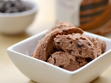 Double chocolate chip icecream