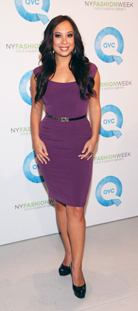 Cheryl Burke at New York Fashion Week Day 1