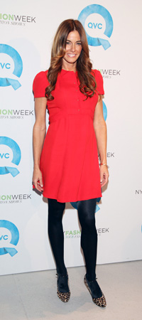 Kelly Bensimon at New York Fashion Week Day 1