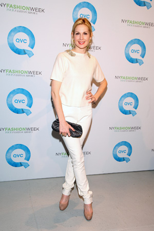 Kelly Rutherford at New York Fashion Week Day 1