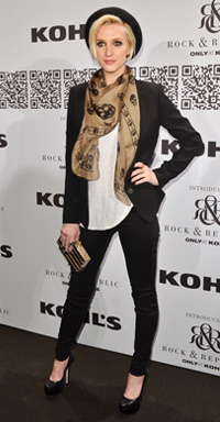 Ashlee Simpson at the Rock & Republic For Kohl's Fashion Show