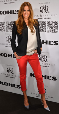 Kelly Bensimon at the Rock & Republic For Kohl's Fashion Show