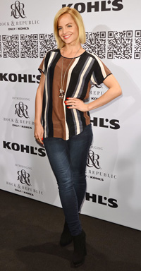 Mena Suvari at the Rock & Republic For Kohl's Fashion Show