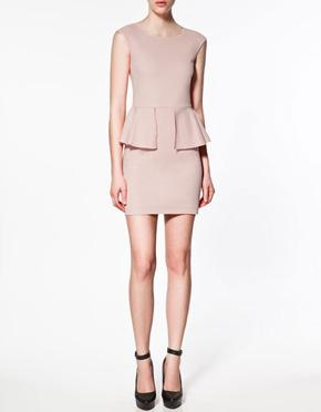 Frilly pink dress