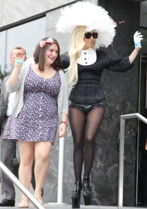 Do as Gaga says, not as Gaga does