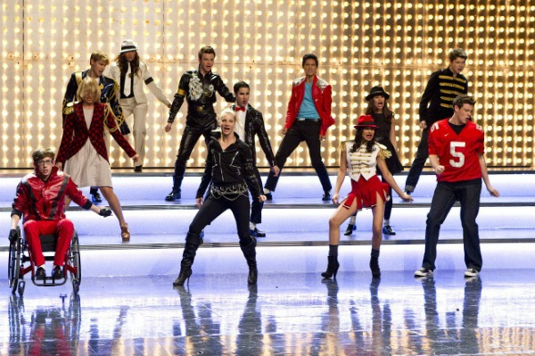 "glee proves who's ""bad"" with michael jackson!"