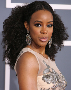Kelly Rowland's Grammy 2012 hairstyle