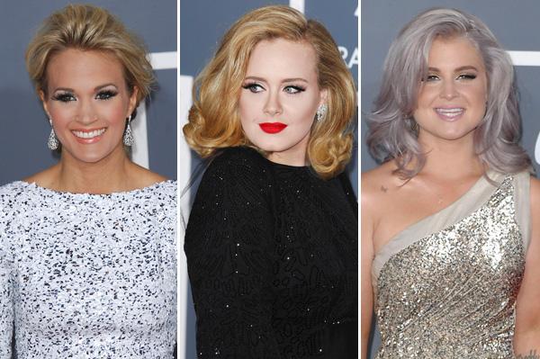 Carrie Underwood, Adele, Kelly Osbourne