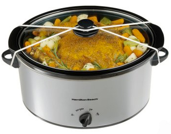 Hamilton Beach 7-Quart Oval Slow Cooker