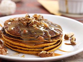 Monday: Harvest grain pancakes