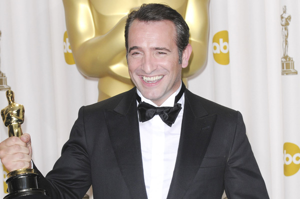 Jean Dujardin swore during Oscars acceptance speech