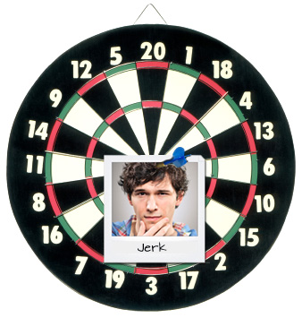Dart board