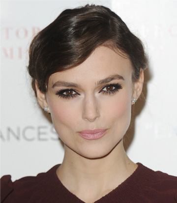 Keira Knightley's smokey eyes