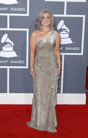 Kelly Osbourne at the 2012 Grammy Awards
