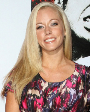 Shiny and straight -- Kendra Wilkinson
