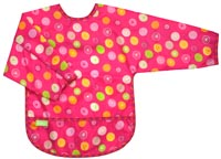 Kushies bib with sleeves