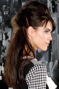 New York Fashion Week hairstyle -- L.A.M.B