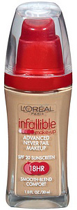 L'Oréal Infallible Advanced Never Fail Makeup