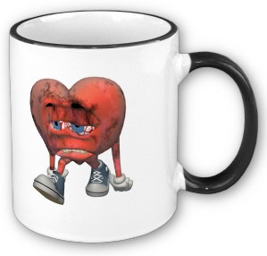 Love Sick Heart Mug