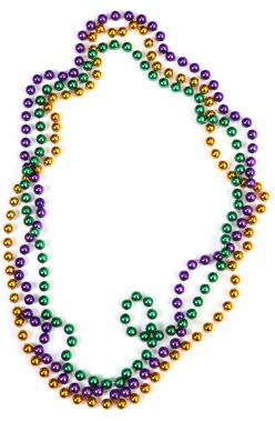 Mardi Gras Beads Mardi gras beads