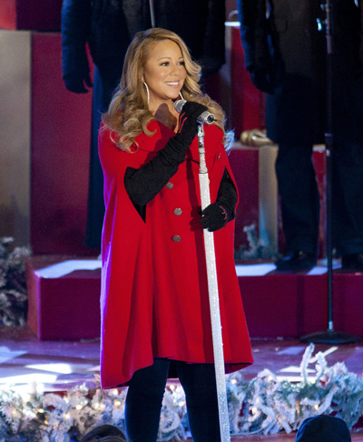 Pregnant Mariah Carey