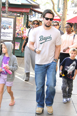 Mark Wahlberg teaches by example