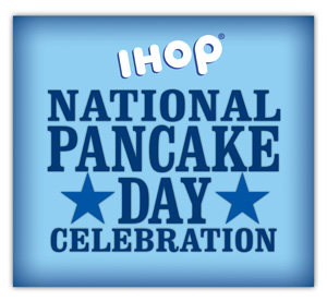 IHOP -- National Pancake Day