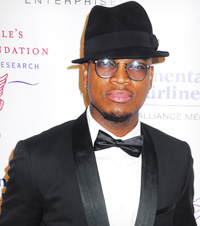 Ne-Yo at charity ball