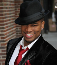 Ne-Yo wearing a suit