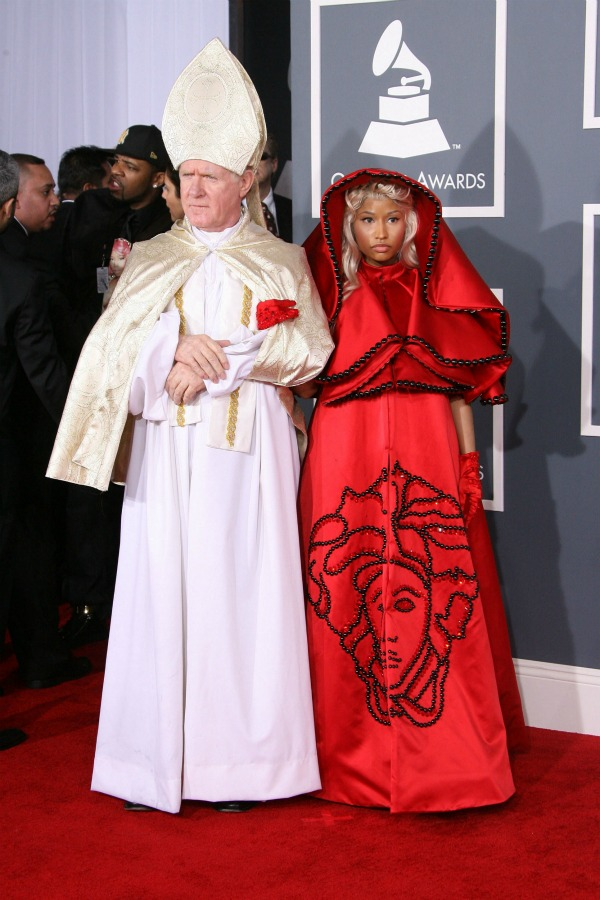 Nicki Minaj worst dressed at the 2012 Grammy Awards