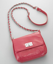 New York & Company Bold Patent Mini Bag, $33