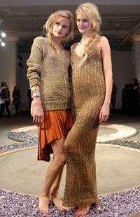 NY Fashion Week 2012 -- Ainsley