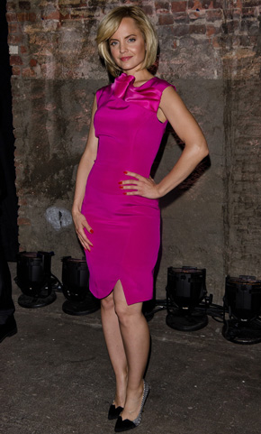 Mena Suvari at New York Fashion Week