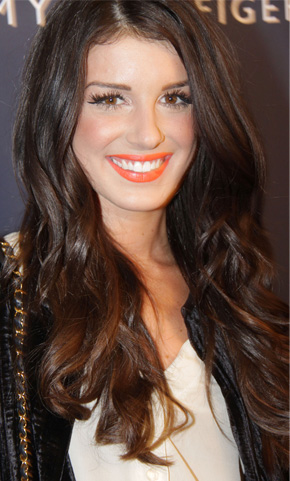 Shenae Grimes at New York Fashion Week