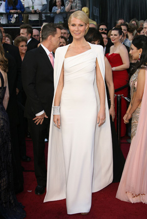 Gwyneth Paltrow at the 2012 Oscars