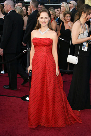 Natalie Portman at 2012 Oscars