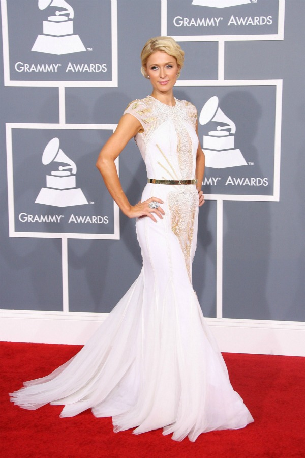 Red carpet fashion at the Grammys