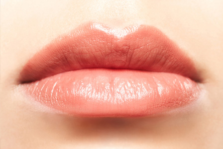 Plump lips