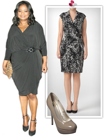 Octavia Spencer -- Plus size fashion ideas