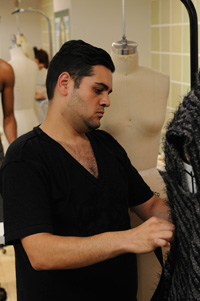 Scenes from Project Runway All Stars Episode 6 -- Michael Costello