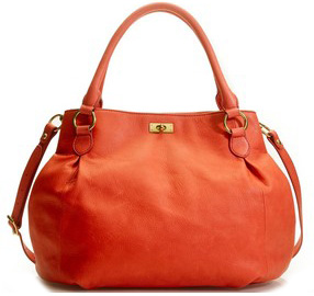 Our pick: Brompton Hobo in vibrant coral (jcrew.com, $298).