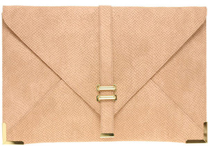 Our pick: Asos Slot Through Portfolio Clutch (asos.com, $36).