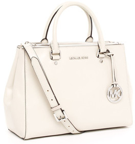 Our pick: Michal Kors Bedford Dressy Tote in vanilla (neimanmarcus.com, $298).