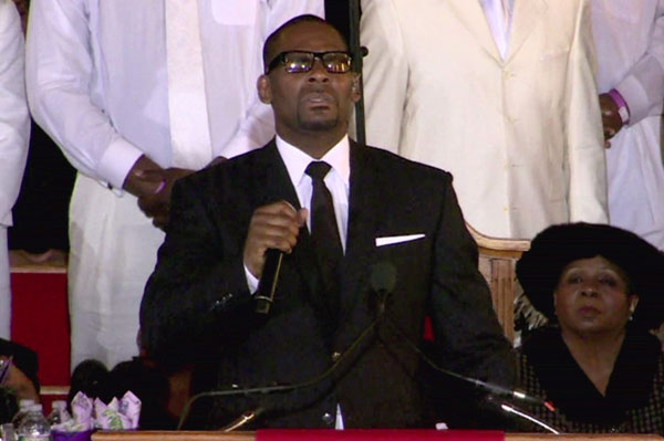 R. Kelly, Stevie Wonder sing to Whitney