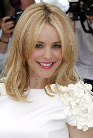 Rachel McAdams before bangs