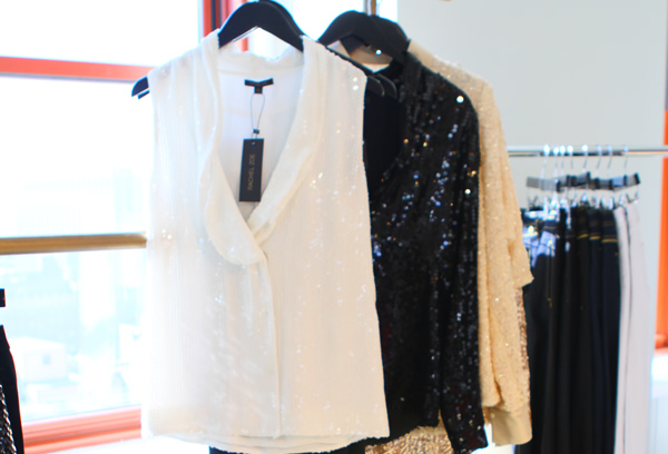 Rachel Zoe Fashion Collection: Sequined blouse