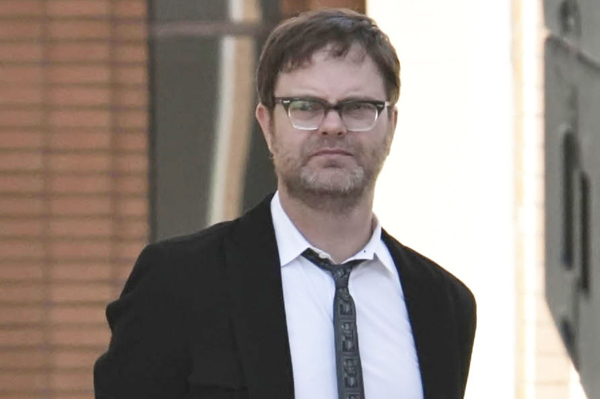 Rainn Wilson apologizes for bad tweet