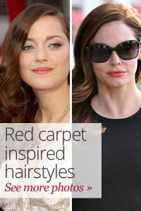 Everyday red carpet hair