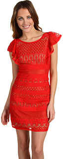 BCBGMAXAZRIA Renata lace dress